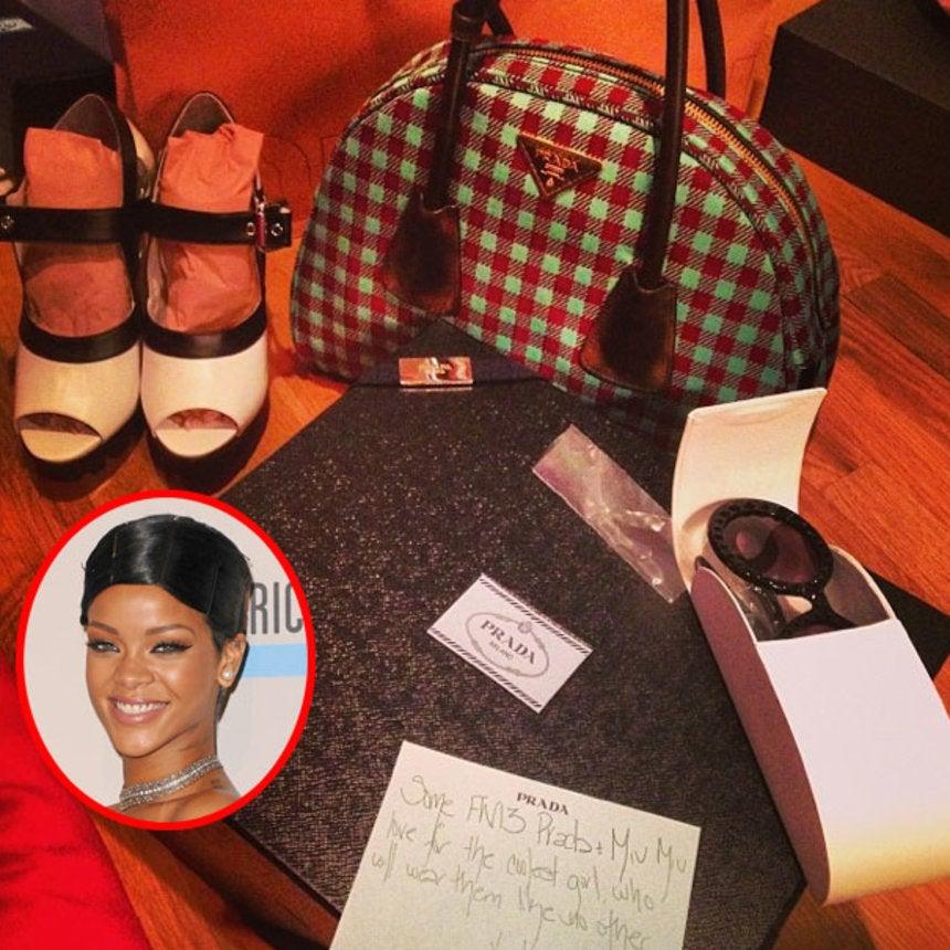 10 Fabulous Gifts Rihanna Got for Christmas