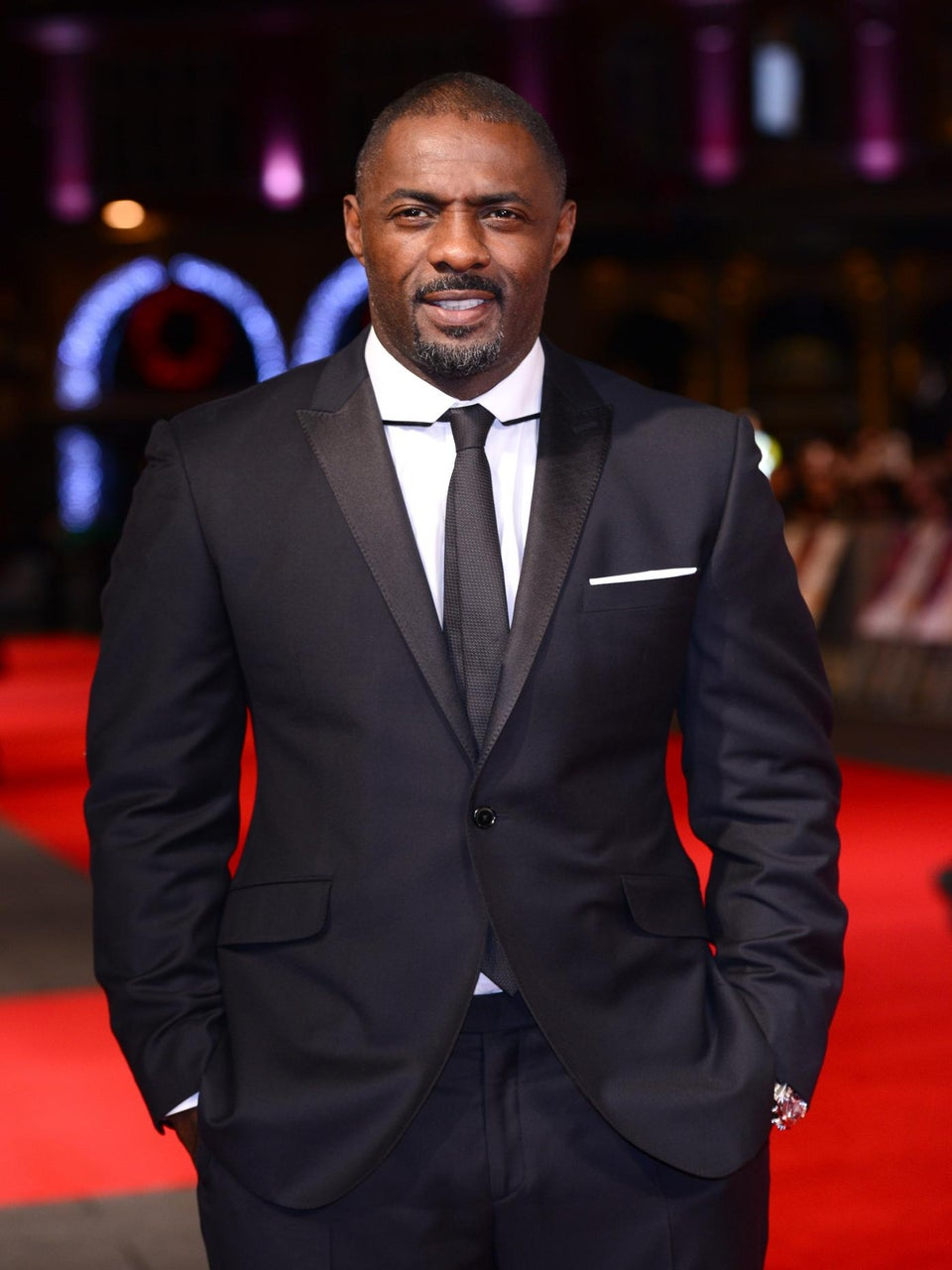 Idris Elba Uninjured After Car Flips Over