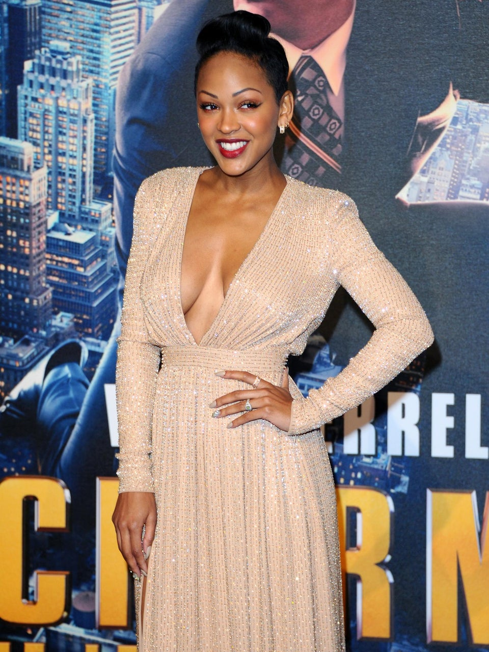 Meagan Good Responds to Christian Critics Over Cleavage
