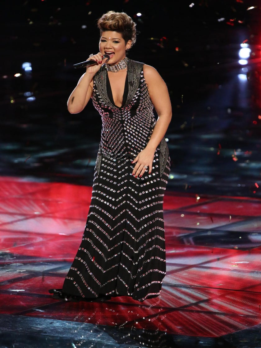'The Voice' Winner Tessanne Chin Signs Record Deal