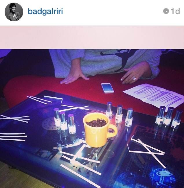 Rihanna's Working on a New Fragrance