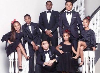Photo Fab: See Diddy's Holiday Card With Kids