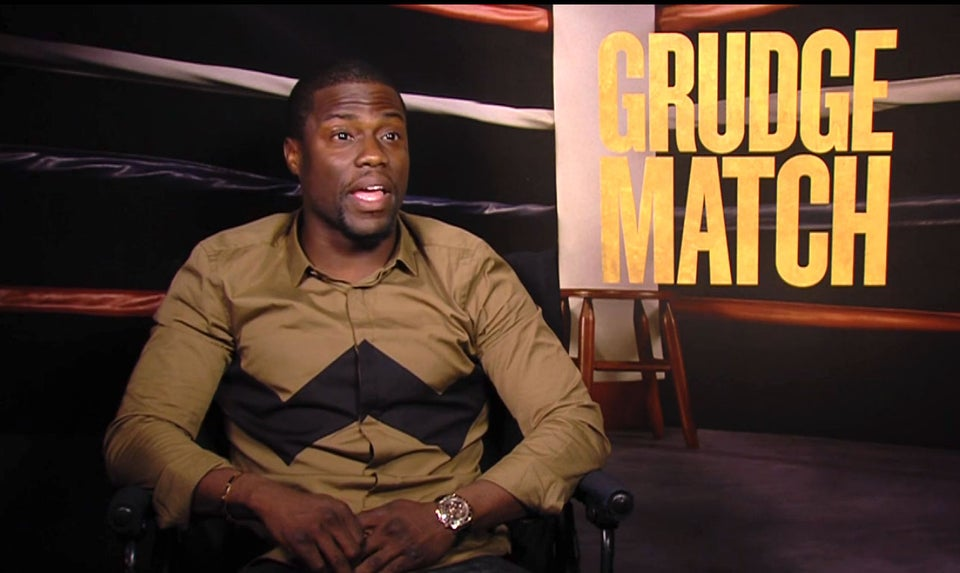 EXCLUSIVE: Kevin Hart Talks 'Grudge Match' and Christmas