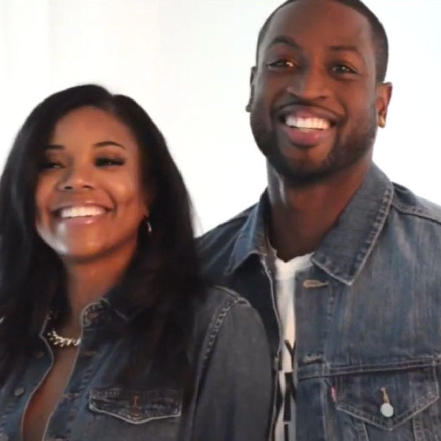Must-See: Go Behind the Scenes of Gabrielle and Dwyane's Christmas Card