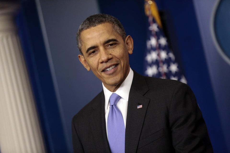 President Obama Named Most Admired Living Man of 2013