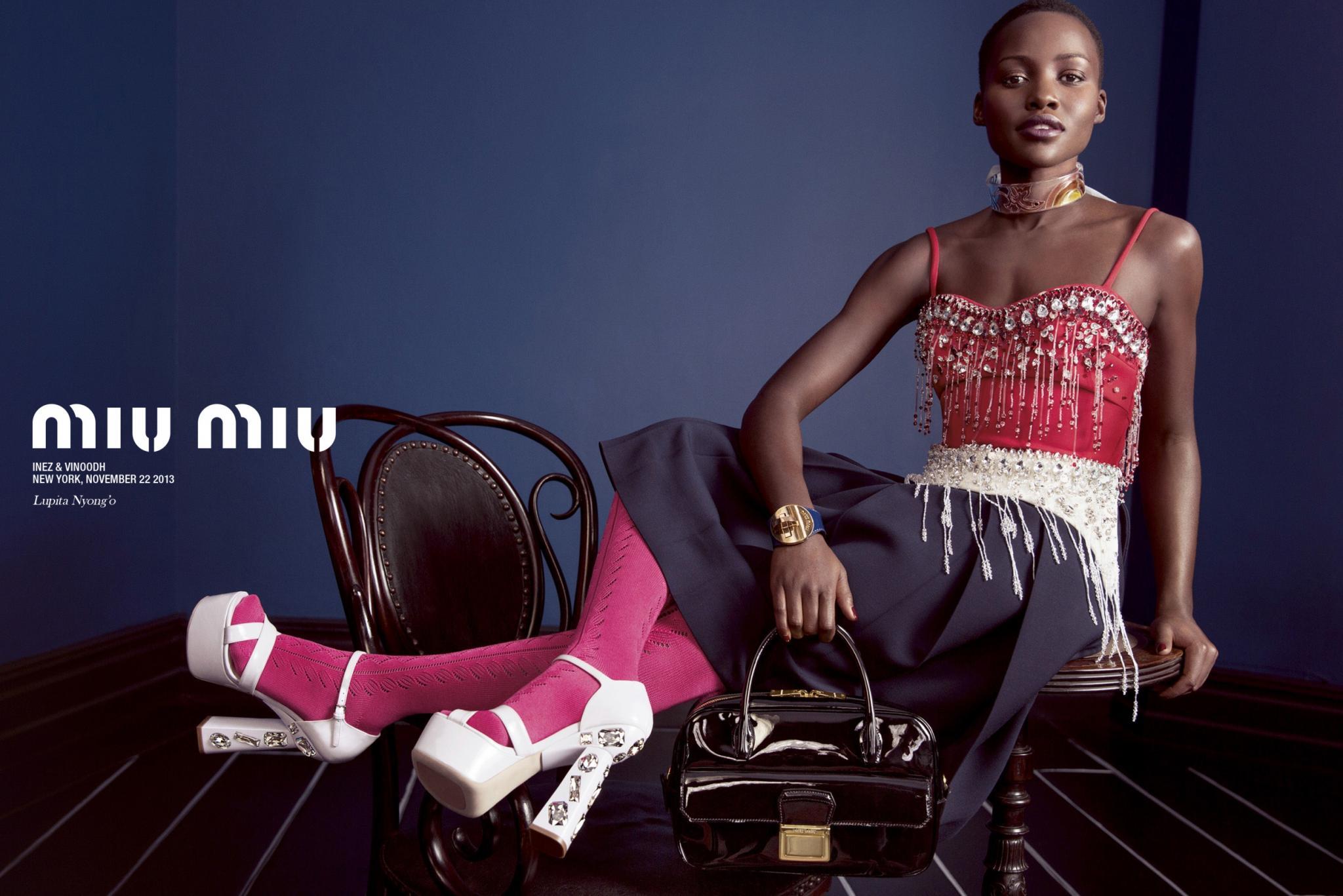 Lupita Nyong'o Tapped For Miu Miu Ad