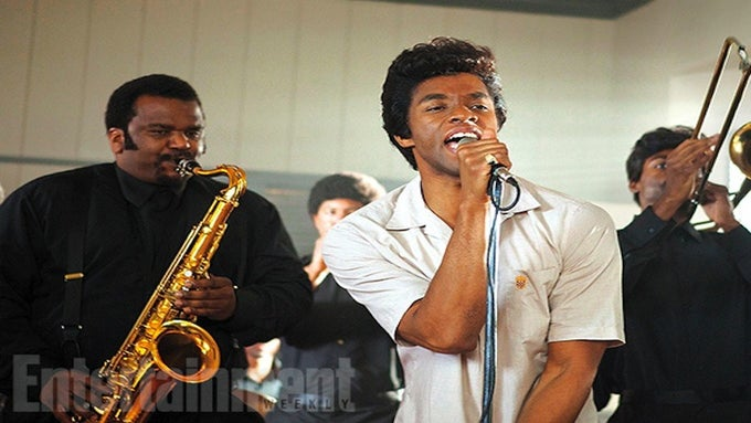 First Look: See Chadwick Boseman As James Brown in New Biopic