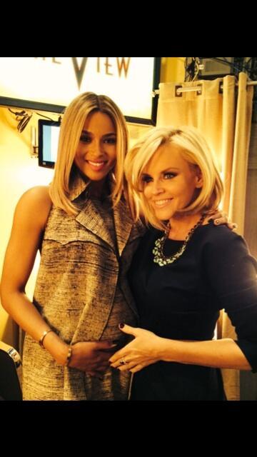 Ciara Confirms Pregnancy on 'The View'