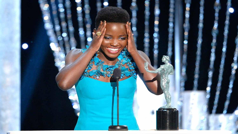 Lupita Nyong'o Wins SAG For Supporting Actress