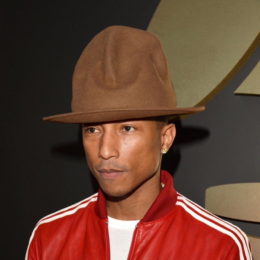 Coffee Talk: Sale of Pharrell's Hat Rakes in $41K for Charity