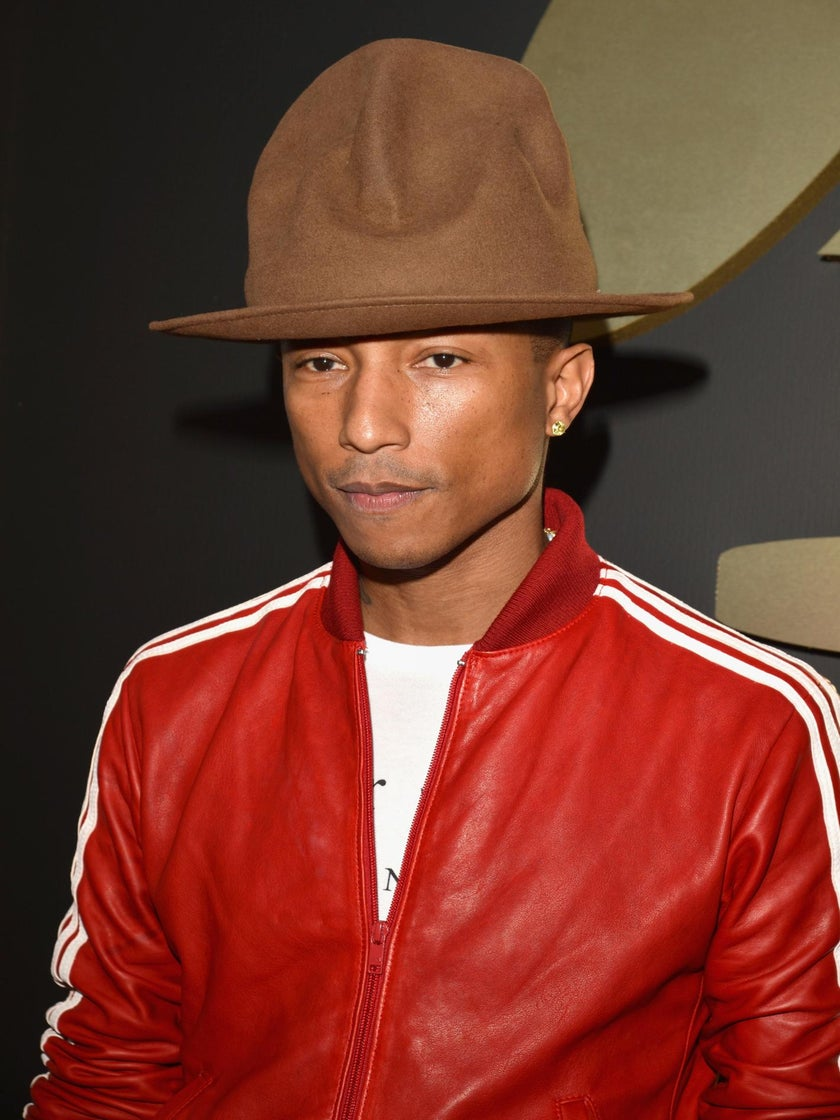Pharrell Responds to Hat Critics with Grace
