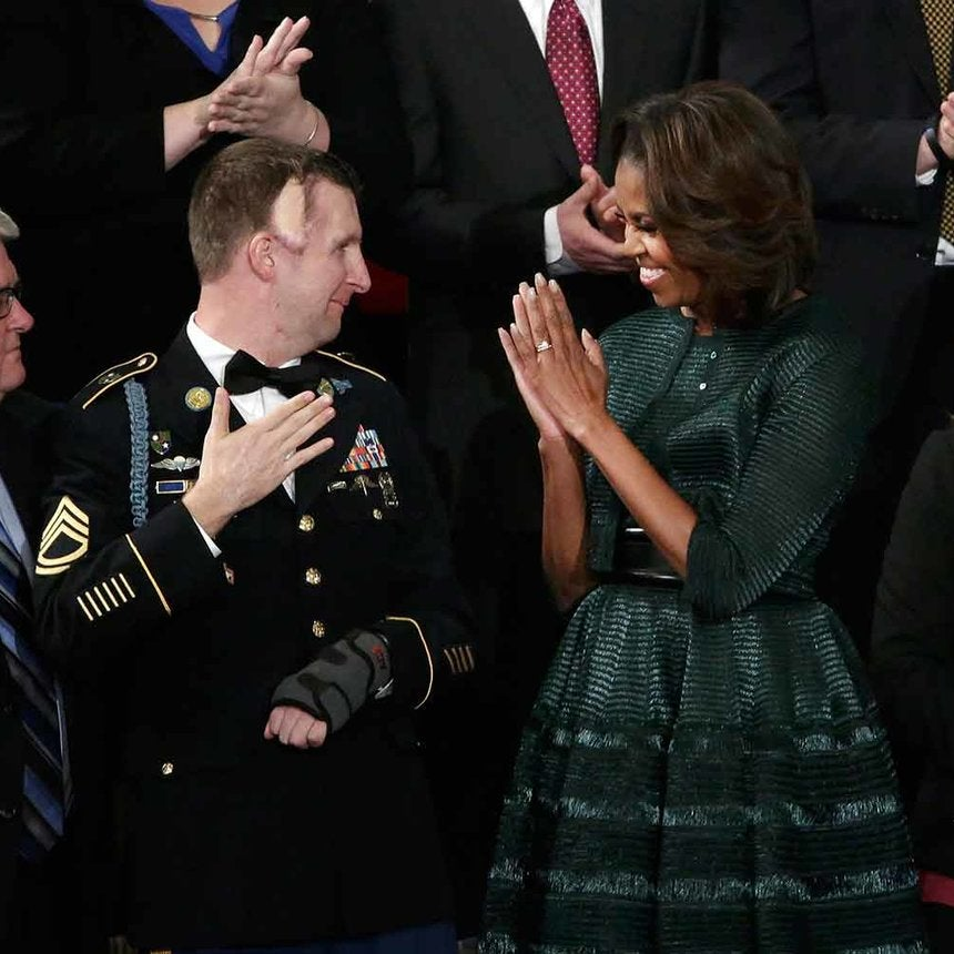 First Lady Style: Stunning at State of The Union Address