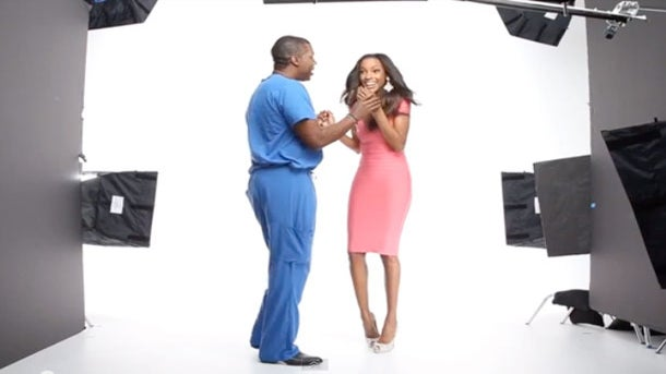 Must-See: Supermodel Quiana Grant Gets Fake Photo Shoot Proposal to Remember
