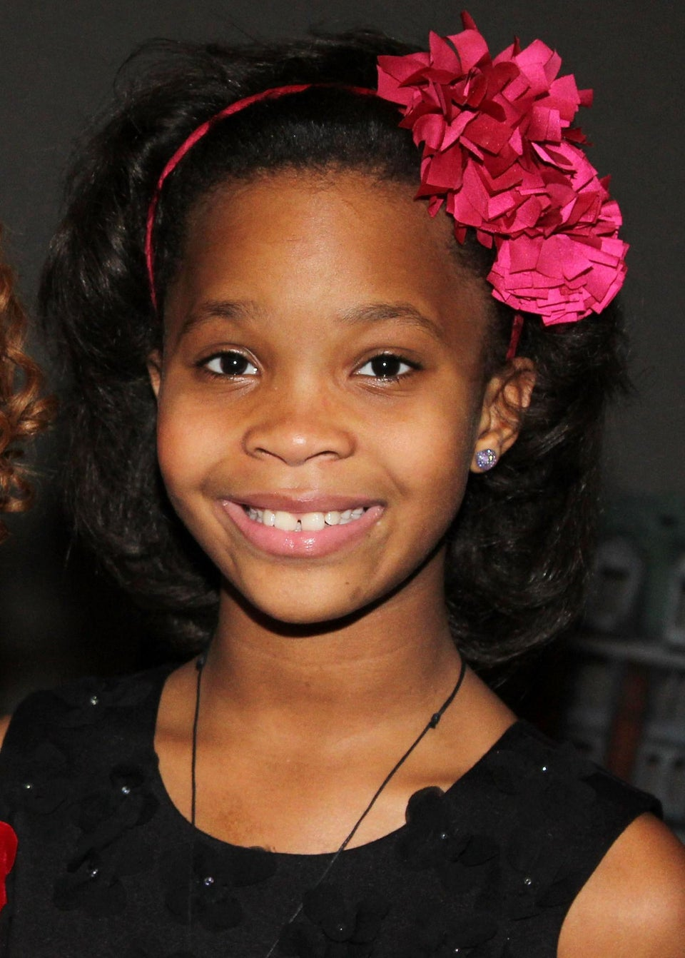 Coffee Talk: Quvenzhane Wallis Is the New Face of Armani Junior