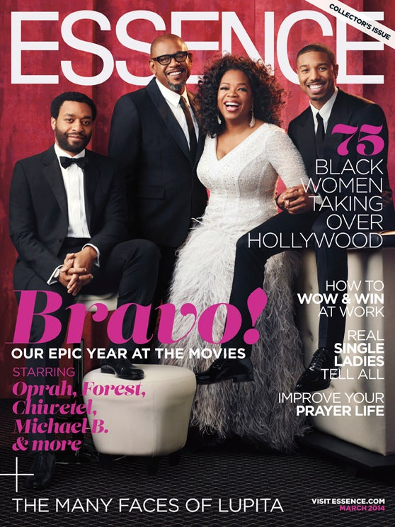 Oprah, Forest, Chiwetel and Micheal B.: Behind The Cover