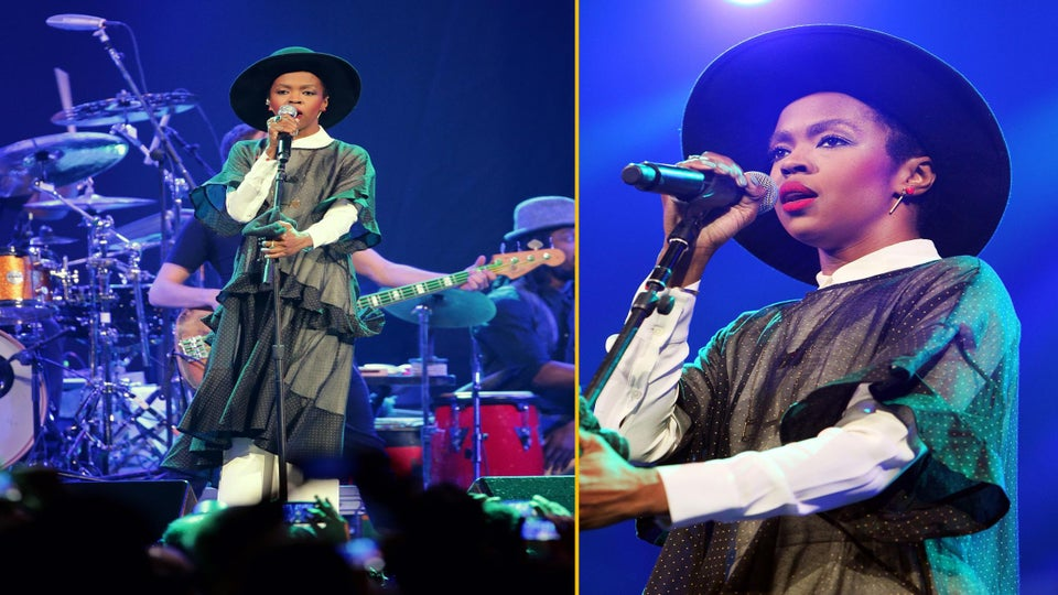 Lauryn Hill Shows Up Late at Voodoo Festival, Performance Gets Cut Off