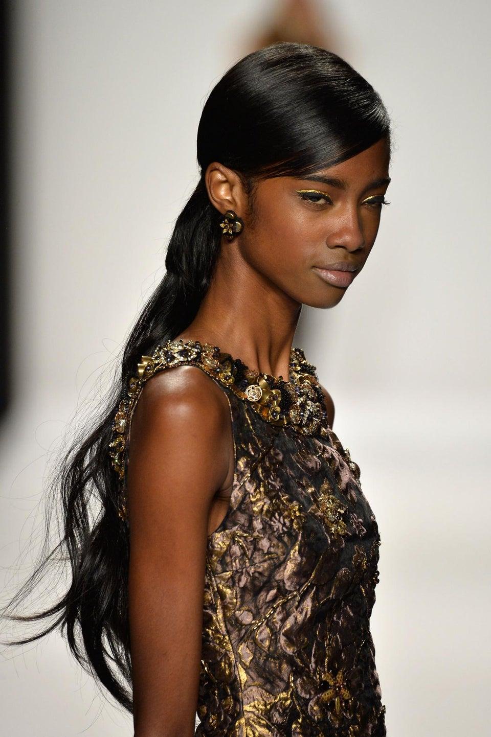 Fashion Week Beauty School: Golden Eye