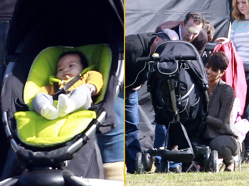 Photo Fab: Look at Halle Berry's Adorable Baby Boy, Maceo