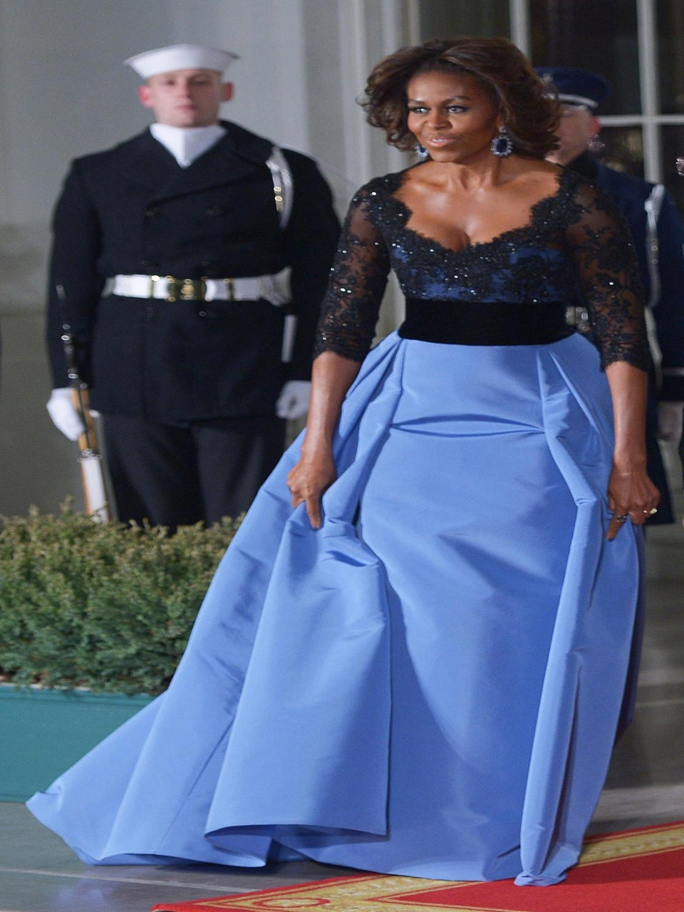 First Lady Style: Divine at The State Dinner