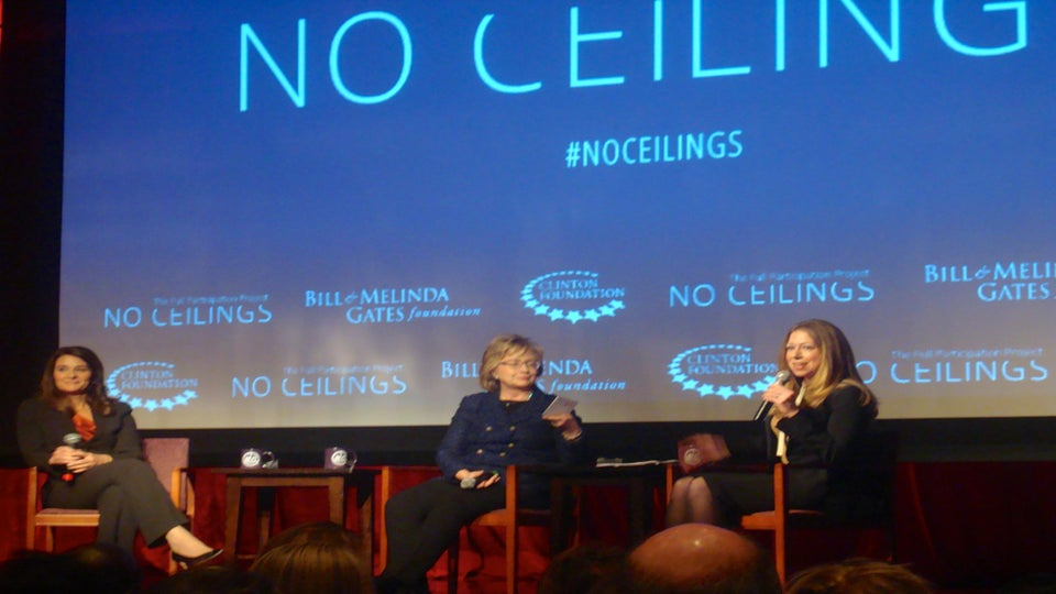 Join #NoCeilings, Hillary Clinton's Global Initiative to Support Women and Girls