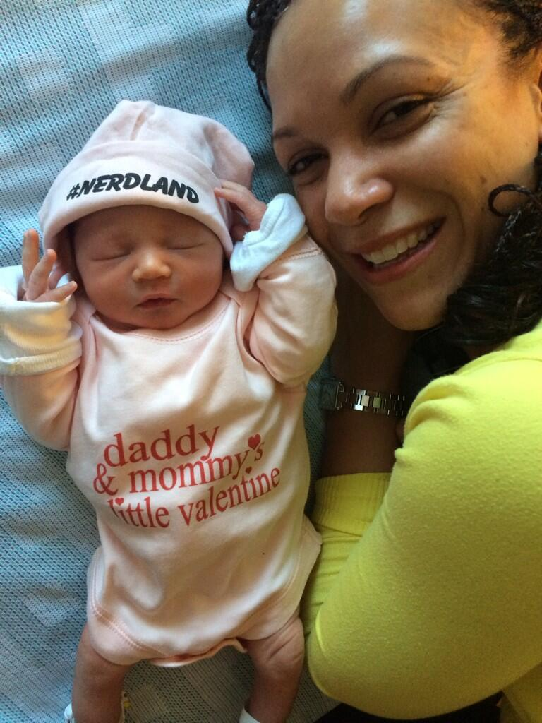 MSNBC Host Melissa Harris-Perry Welcomes New Daughter