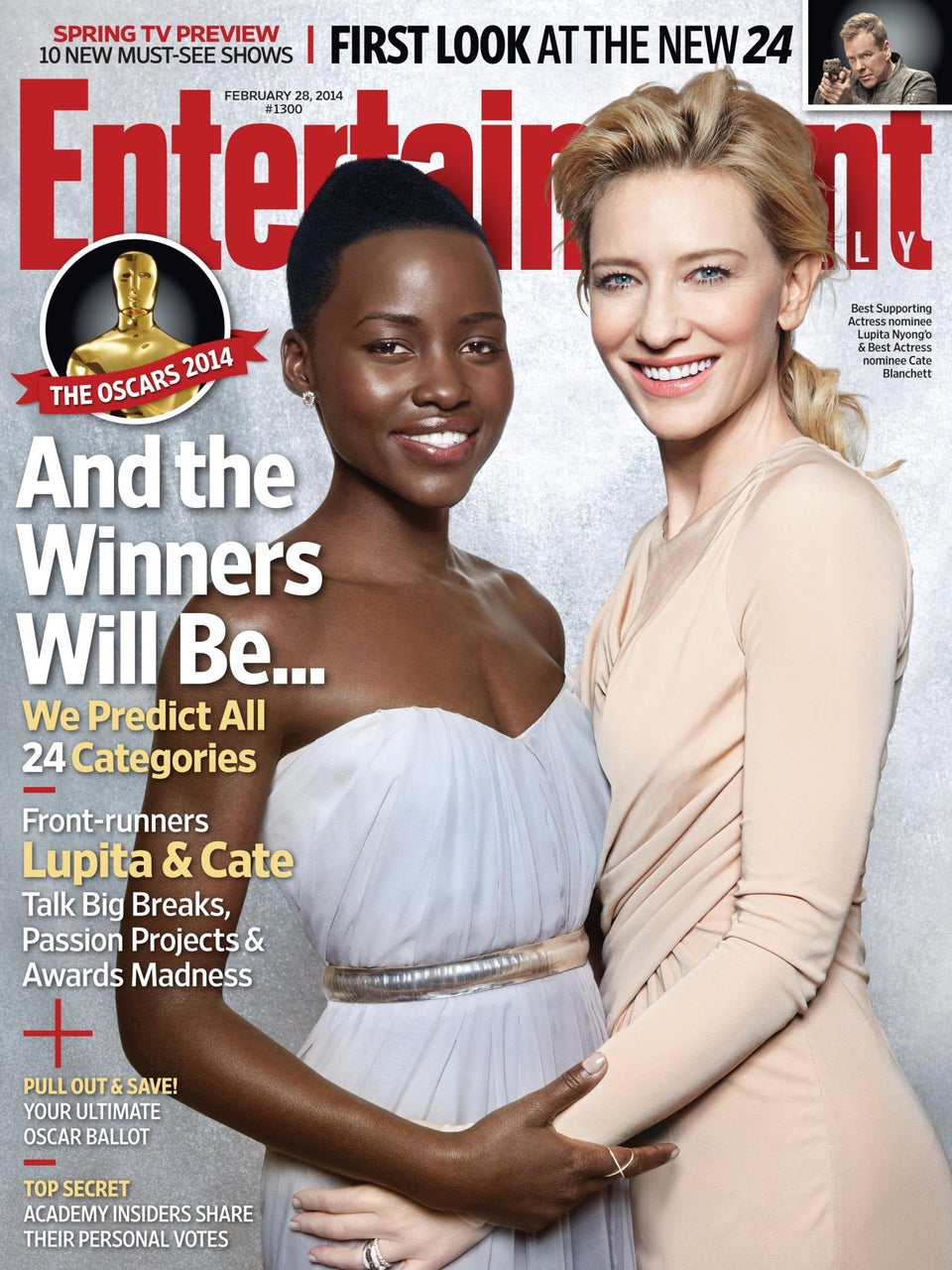 Lupita Nyong'o: 'I'm Doing For Little Girls What Oprah and Whoopi Did For Me'