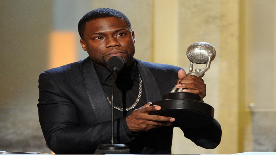 Stars Win Big at the 45th Annual NAACP Awards