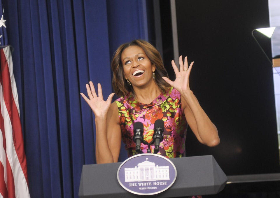 Must-See: Michelle Obama and Richard Sherman Spoof His Post-Game Rant