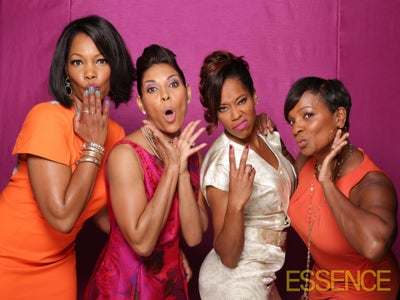 Exclusive: ESSENCE 2014 'Black Women in Hollywood' Photo Booth