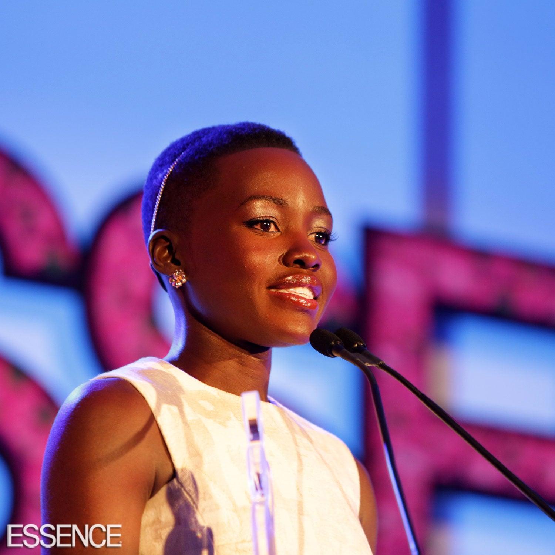 WATCH: Lupita Nyong'o's Moving ESSENCE Black Women in Hollywood Speech
