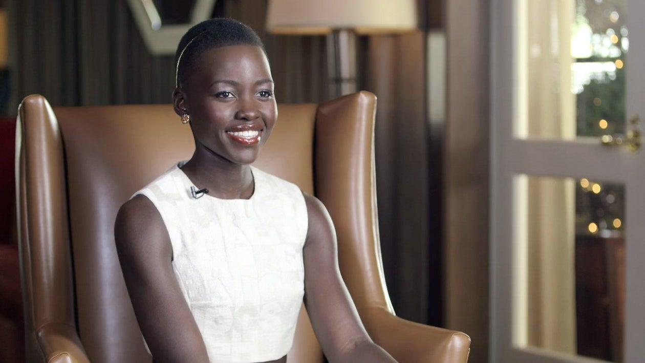Black Women in Hollywood Interviews:Lupita Nyongo