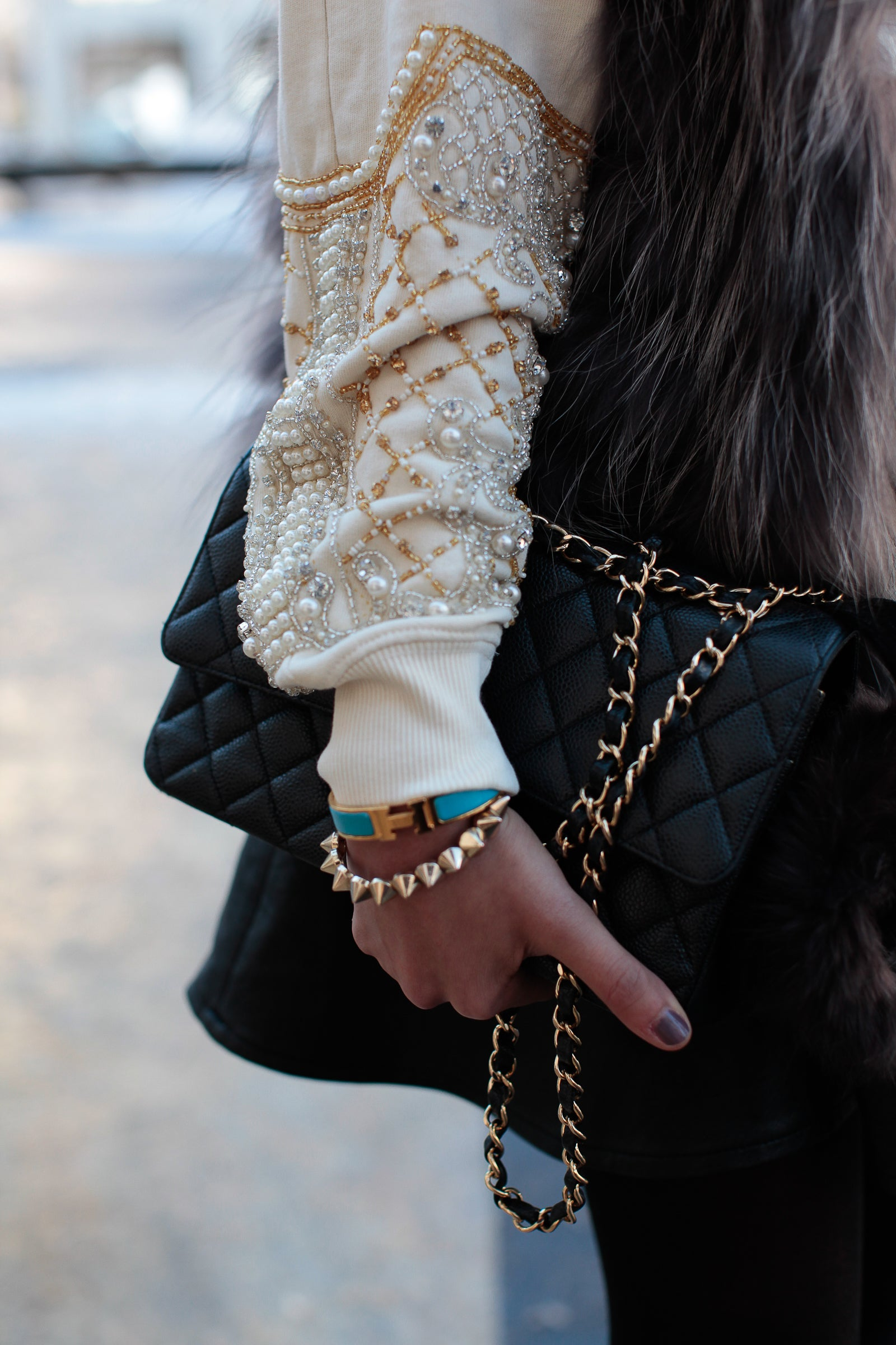 c31df794ef42 Accessories Street Style: Chanel Chic - Essence