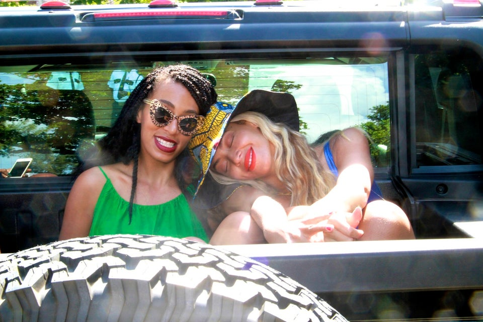 Coffee Talk: Beyonce Shares Pictures of Sisterly Love with Solange on Instagram