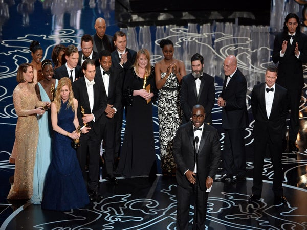 '12 Years A Slave' Wins Oscar for Best Picture, Makes History