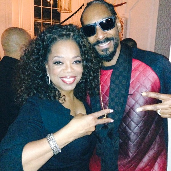 Photo Fab: Oprah and Snoop Dogg Meet for the First Time, End Their Feud