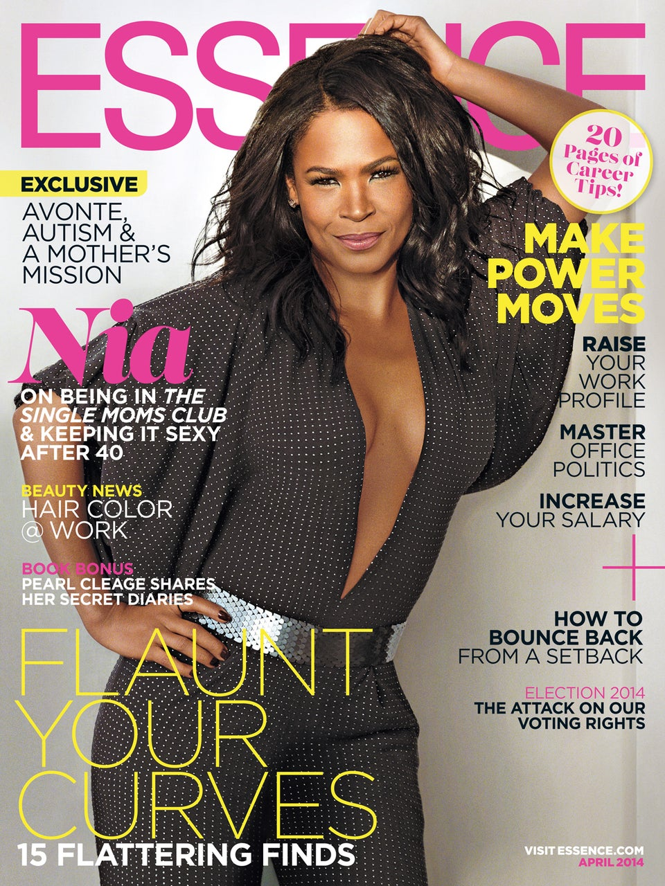 Nia Long Graces the April ESSENCE Cover
