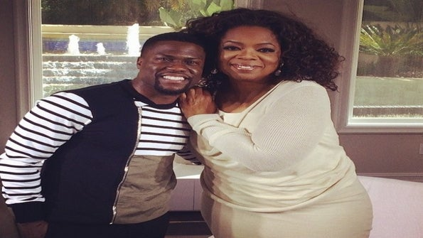 Oprah Makes a Personal Visit to Interview Kevin Hart