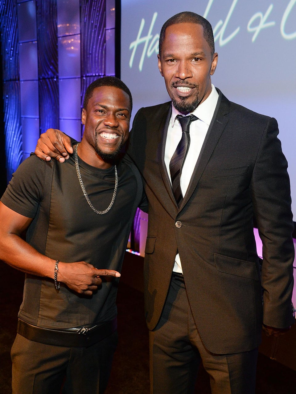 Coffee Talk: Jamie Foxx and Kevin Hart in Talks to Star in 'Black Phantom'