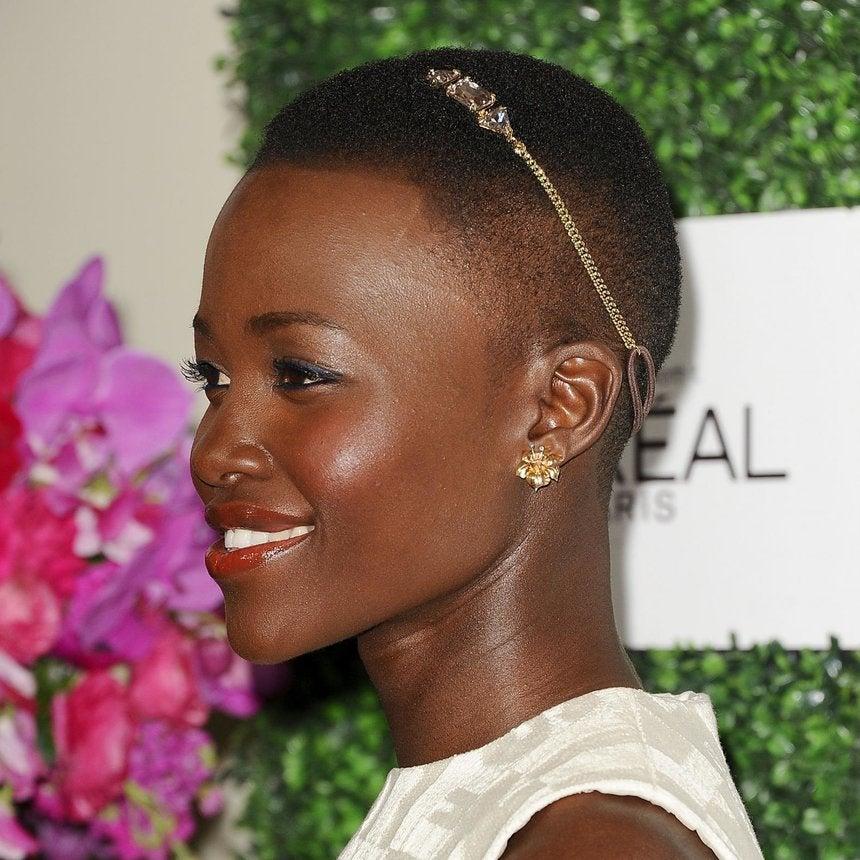 The Lupita Look: Hair Jewelry