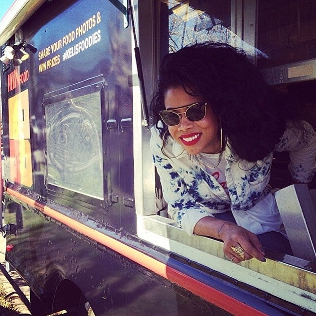 Photo Fab: Kelis Sets Up a Food Truck at SXSW