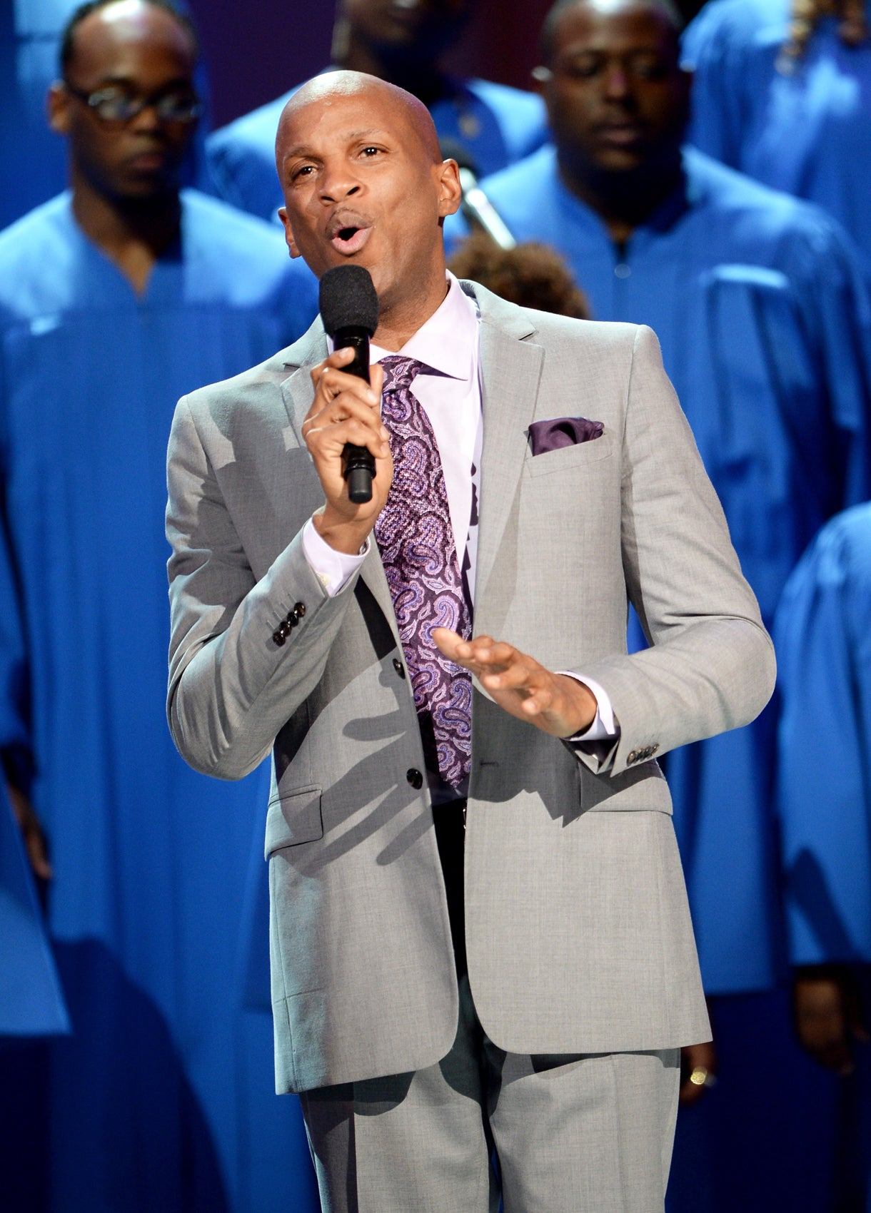 Donnie McClurkin Spills the Beans on the Yolanda Adams Gospel Tribute