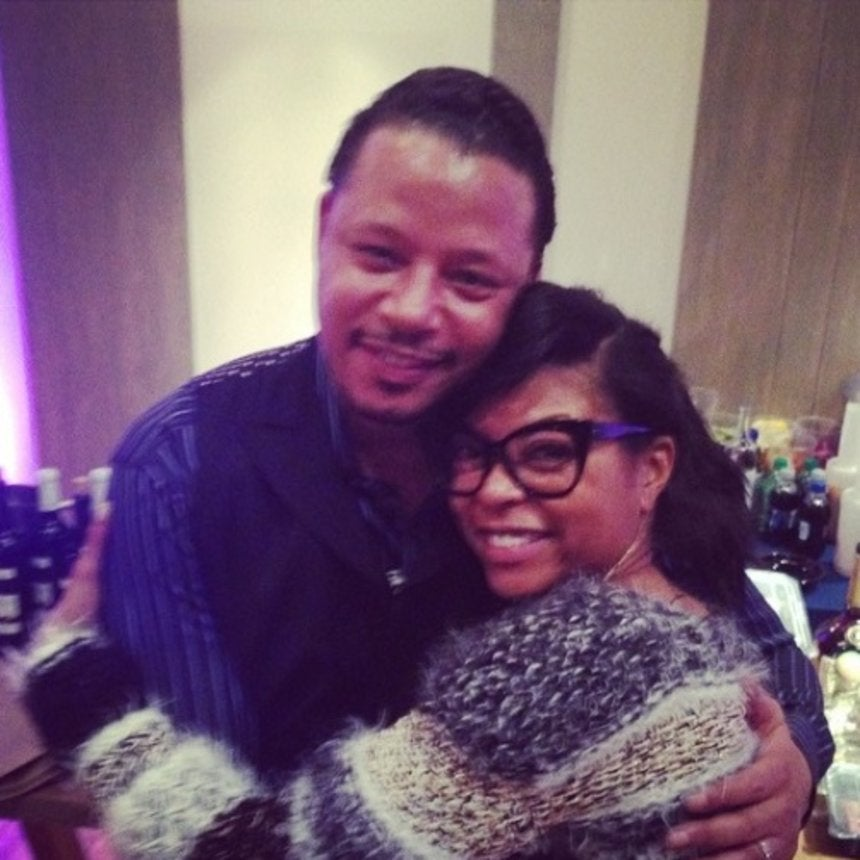 Photo Fab: Taraji P. Henson and Terrence Howard Prep for Lee Daniels' 'Empire'