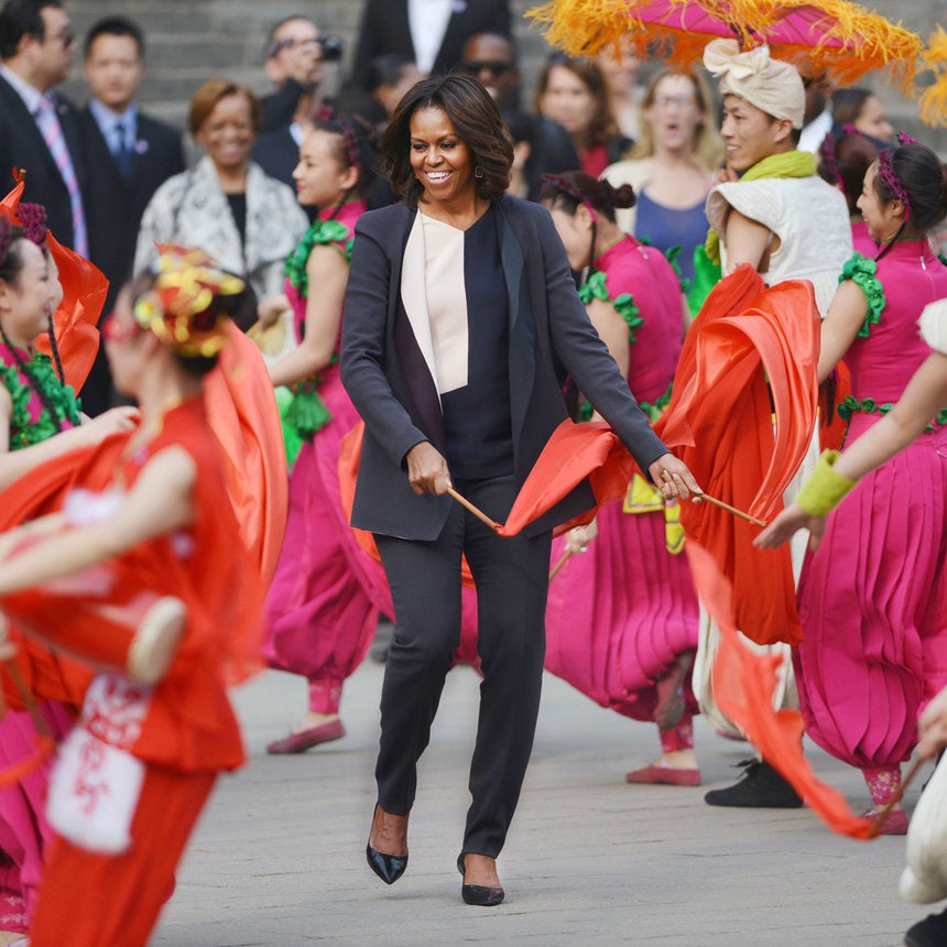 PHOTOS: Michelle Obama and Daughters' China Visit