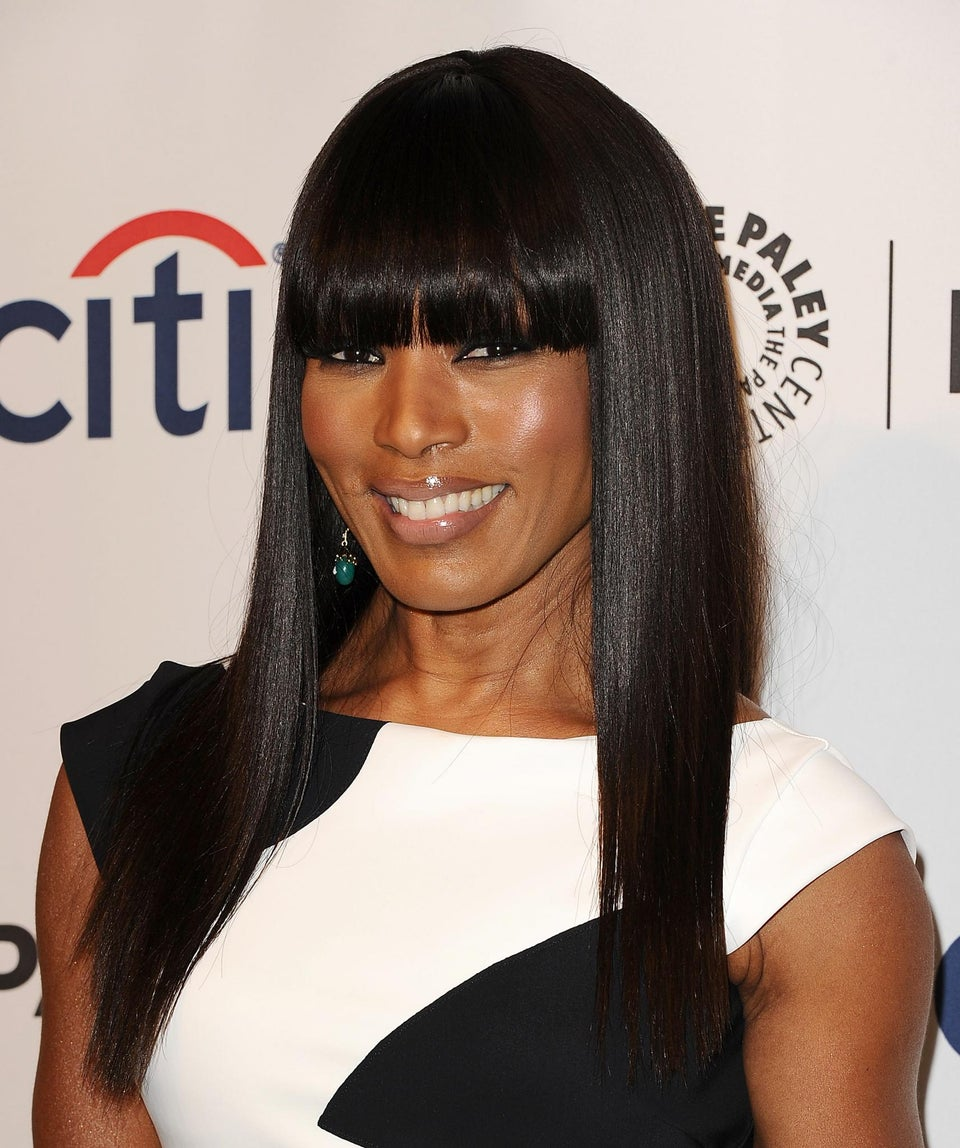 Look of the Day: Angela Bassett's Bang