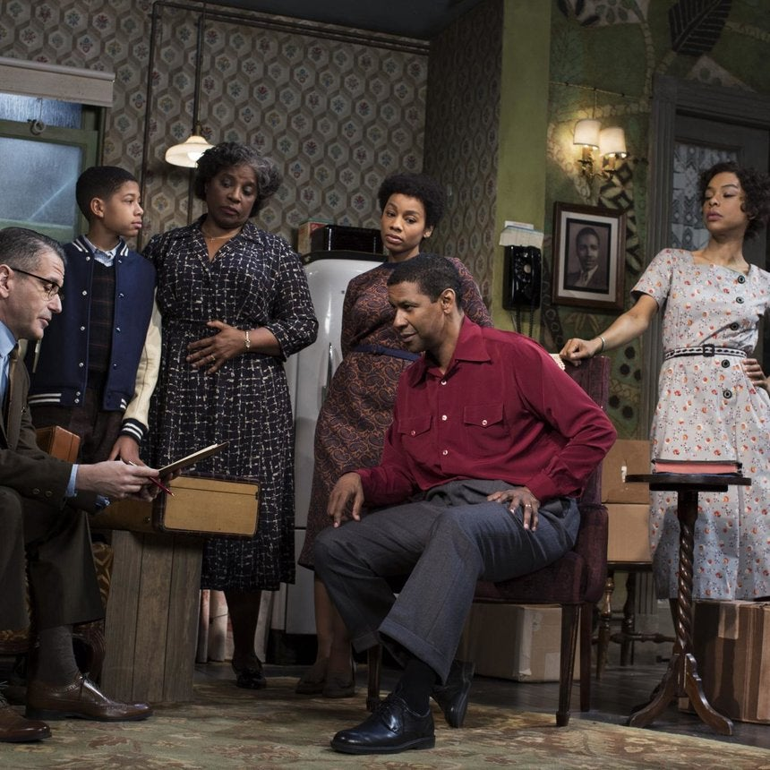 Photo Fab: Denzel Washington and Anika Noni Rose in 'A Raisin in the Sun'