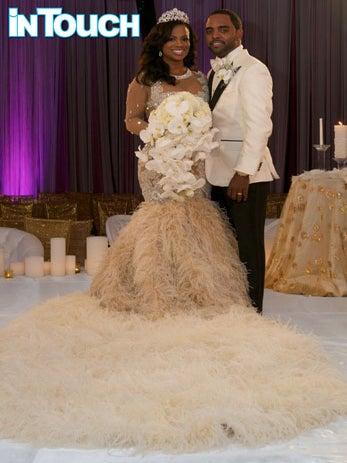 Photo Fab: Kandi Burruss and Todd Tucker's First Wedding Photo