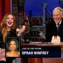 Must See: Oprah Gets Prank Called By Lindsay Lohan and David Letterman
