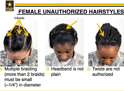 Black Congresswomen Chime In On Army's New Hair Regulations