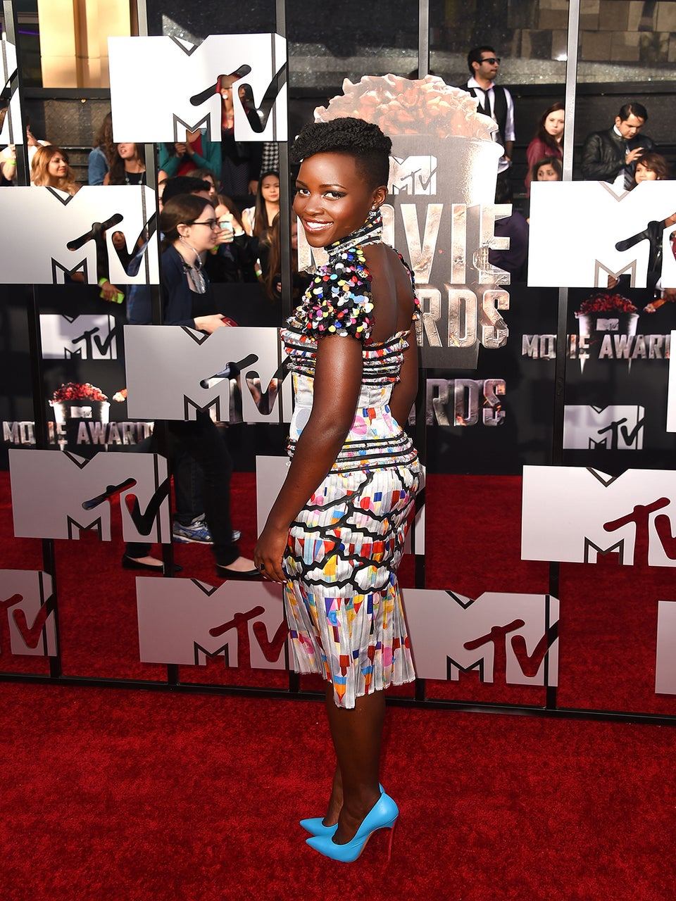 Lupita Nyong'o's MTV Movie Awards Makeup