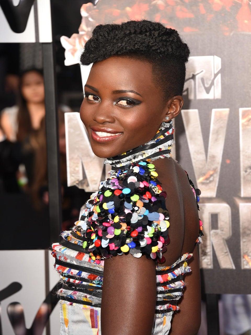 Get Lupita Nyong'o's Hair From The MTV Movie Awards